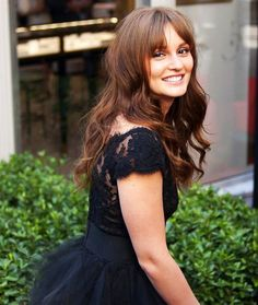 Love the bangs ! Leighton Meester <3