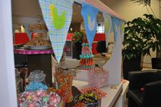 Candy Cart, Irish Traditions, Bunting, Catering, Special Occasion, Traditional, Spring, Sweet, Decor