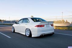 Slammed Acura TSX   Tsx Slammed