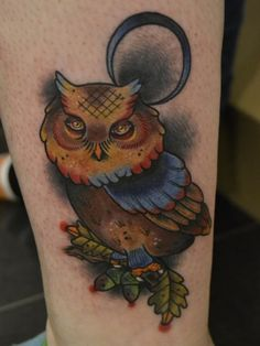 Owl Tattoos - Tattoo Pictures Gallery