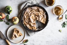 Apple Butter Ruffled Milk Pie - How to Made Greek Sweets, Greek Desserts, Fall Desserts, Greek Recipes, Tart Recipes, Muffins, Homemade Apple Butter, Local Milk, Phyllo Dough