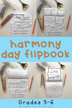 Use this Harmony Day flipbook activity for kids to teach them 'everyone belongs' in Australia. This printable is a fun way for students to learn about tolerance and cultural diversity & is a great alternative to crafts or worksheets. Use this template or flipchart to complement lessons about Harmony Day & International Day for the Elimination of Racial Discrimination. Click the link to see full more details {Year 3, Year 4, Year 5, Year 6, Grade 3, Grade 4, Grade 5, Grade 6}…