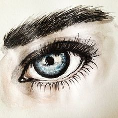 water color eye images | Quick watercolor eye sketch} by ~LumosKitty on deviantART