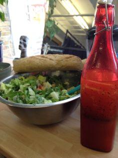 Salad with 'Dora's Dressing'