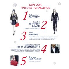 Join our Pinterest Challenge in order to win your perfect NYE outfit