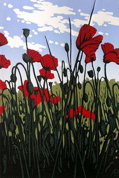 Alexandra Buckle: Roadside Poppies