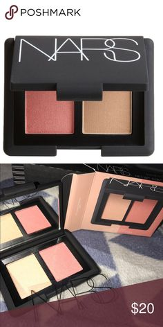 "NEW! MUST HAVE NARS BLUSH DUO•• ""HOT SANDS/ORGASM"" New in box. Travel size. Gorgeous must have shades from NARS. PERFECT for your on the go glow!! NARS Makeup Blush"