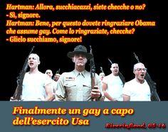 Finalmente un gay a capo dell'esercito Usa