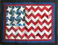 And Waved to Me, free quilt pattern by Tish Douglas as seen at Quilted Things, Quilt Inspiration