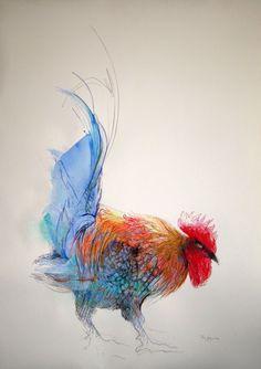 Mary Sprague | Recent Art | Six-Foot Chickens Gallery