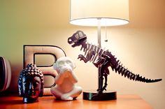 DIY Dinosaur Lamp-8