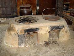 Kamado -- Japanese Cooking Range