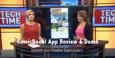 ComicBook App Review & Demo on ABC News with Francie Black. Best Comic B...