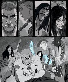 Legend of Korra Red Lotus Book3 by blacksataguni