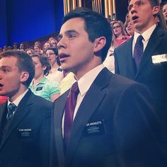 Good for David Archuleta(: best looking missionary in the field.