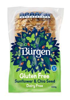 Shout Designwas assigned with a revitalization ofBürgen Gluten Free - first main stream Gluten free productin the market in New Zealand.