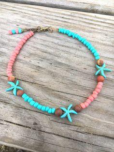 Beach Anklet Starfish Anklet Hippie Anklet Boho Anklet