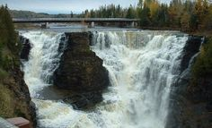 Kakabeka Falls, Ontario I have been there and it's breath taking.