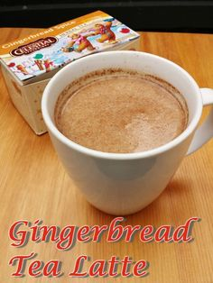gingerbread tea latte recipe healthy