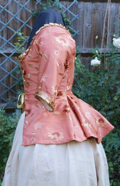 18th Century Marie Antoinette Embroidered by CorsetsandCostumes