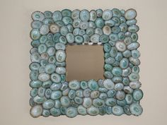 Beach Decor Sea Shell Mirror for that Beach by lorisartstudio