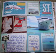 St Thomas - Scrapbook Customs - Tropical Excursions Collection