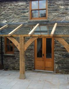 Pergola With Roof, Outdoor Pergola, Outdoor Rooms, Porch Roof Design, Glass Porch, Porch Canopy, Back Garden Design, Rustic Patio, Backyard Patio Designs