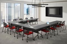 We design office furniture for boardrooms, meeting rooms, and training rooms for offices. Our furniture is also designed for digital rooms. Office Furniture Design, Office Interior Design, Office Interiors, Office Designs, Conference Room Design, Train Room, Container House Design, Co Working, Room Setup