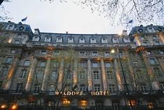 The Waldorf Hilton - London - Where we stayed!