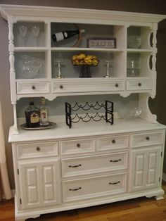 I could totally do this with my hutch.