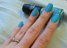 Manicures, Nails, Double Team, Swatch, Blue, Beauty, Nail Salons, Finger Nails, Beleza