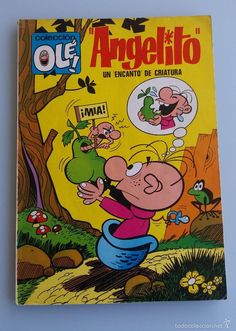 ANTIGUO TEBEO DE OLE ANGELITO 1ª EDICION Nº 54 EN EL LOMO AÑO 1971 MUY BUEN…