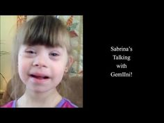 Sabrina's Talking with GemIIni Youtube Program, Down Syndrome, Aspergers, Teaching, Teaching Manners, Learning