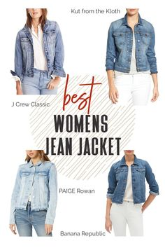 Denim is versatile and universal. With cute and cool denim jackets you can pair with leggings or shorts for a more casual look. Or you can pair it with a fancier dress and a pair of flats or wedges. #TravelFashionGirl #TravelFashion #TravelClothing #jeanjacket #denimjackets #jeanjacketoutfits