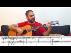 Fingerstyle Tutorial: Fly Me to the Moon - Guitar Lesson w/ TAB - YouTube