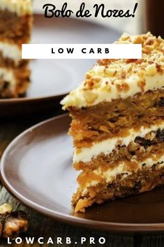 This carrot cake is probably one of the tenderest and moistest cakes youve ever tasted Spend only 20 minutes to prepare this delightCarrot Moist Carrot Cakes, Moist Cakes, Bolos Low Carb, Bolo Fit, Salty Cake, Cake Tins, Savoury Cake, Cupcake Recipes, Clean Eating Snacks