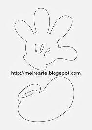 molde chaveiro mickey feltro - Pesquisa Google