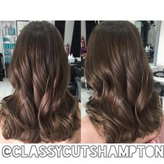 Amazingly shiny hazelnut medium brown for our lovely client Kiera! Perfect balance of warmth and cool tones 😍😍🙌 love our brunettes ❤️❤️ ️styled using waving wand❤️ Brown Hair For Cool Skin Tones, Cool Brown Hair, Medium Brown Hair, Brown Hair Colors, Black Hair, Brunette Color, Brunette Hair, Hazelnut Hair, Stylish Hair