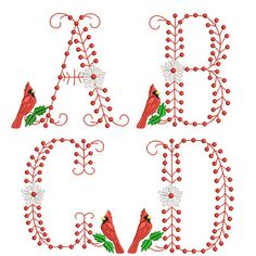 747 Best Alphabets & Monogram Sets, Machine Embroidery images in