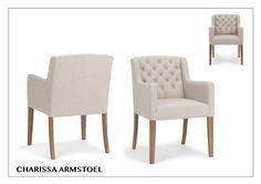 Prijslijst Charissa (Chamonix) Armhoogte 67 cm Breedte 62 cm Diepte 70 cm Hoogte 88 cm Zitdiepte 48 cm Zithoogte 50…