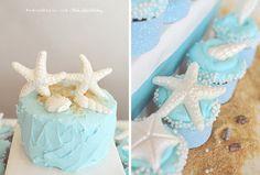 beach wedding cake- starfish wedding cake- chanler inn wedding - newport, rhode island-vintage venue- destination wedding by ohio wedding photographer
