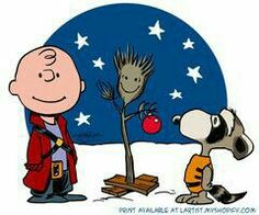 A Charlie Brown Groot. Marvel and Charlie Brown fanart mashup. Meu Amigo Charlie Brown, Charlie Brown And Snoopy, Snoopy Love, Snoopy And Woodstock, Gaurdians Of The Galaxy, Cute Office, Charlie Brown Christmas, Black Christmas, Christmas Tree