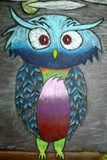 Artsonia Art Exhibit :: Analogous Owls
