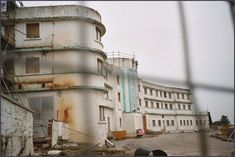 prior to restoration. Morecambe, Midland Hotel, Blackpool, Lancaster, Abandoned Places, Travel Posters, Restoration, To Go, Art Deco