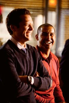 Ryan and Esposito. Love to see them laugh.
