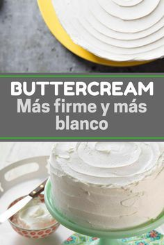 Cómo hacer buttercream ¡Más firme y más blanco! Merengue Cake, Ganache Frosting, Filled Cupcakes, Bakery Logo, Frosting Recipes, Cupcake Cookies, Sweet Recipes, Fondant, Cake Decorating