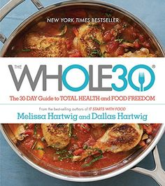 The Whole30 has simply changed my life. I know that you aren't supposed to weigh yourself on this program, but weighing myself is a motivator so I decided