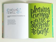 "2,261 Likes, 53 Comments - Lisa Congdon (@lisacongdon) on Instagram: ""Best advice, eveeeerrrr by @carolynsewell!! Today on the blog: an interview with the amazing…"""