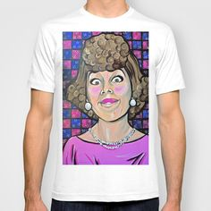 Eunice Harper Higgins T-shirt by Portraits on the Periphery   - $22.00