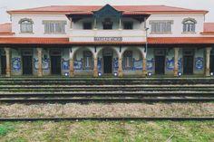 abandoned trainstation. marvão, alentejo, portugal.